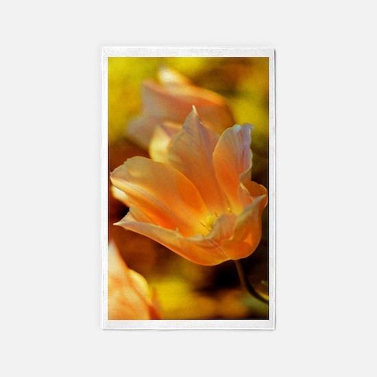 Backlit Tulip Area Rug