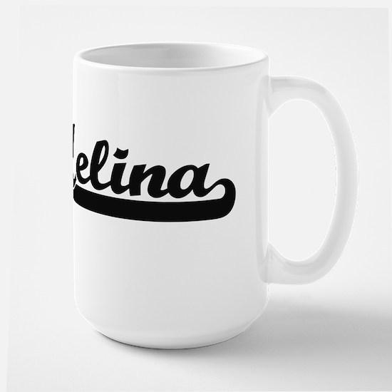 Melina Classic Retro Name Design Mugs
