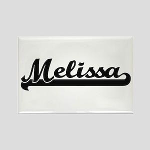 Melissa Classic Retro Name Design Magnets