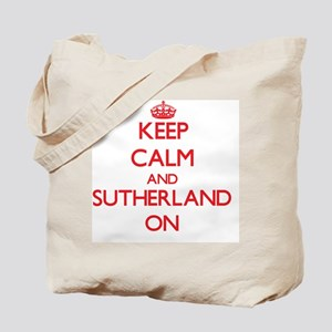Keep Calm and Sutherland ON Tote Bag