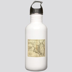 Vintage Map of Marylan Stainless Water Bottle 1.0L