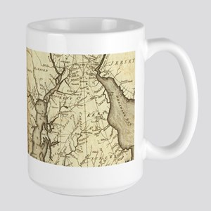 Vintage Map of Maryland (1796) Mugs