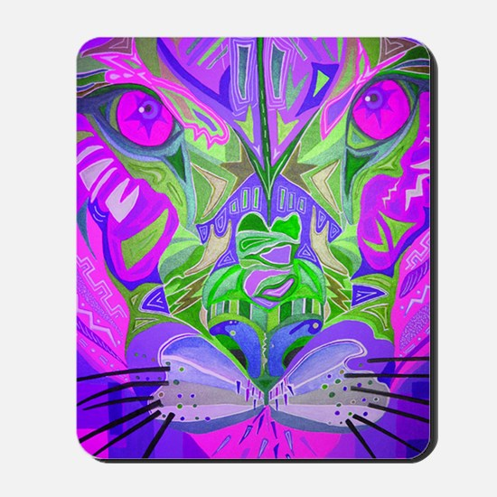cougar-pink Mousepad