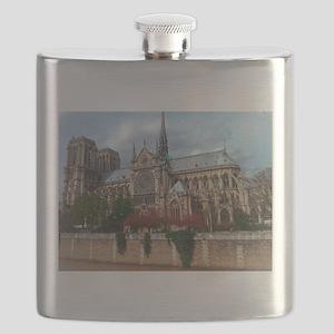 Notre Dame Flask