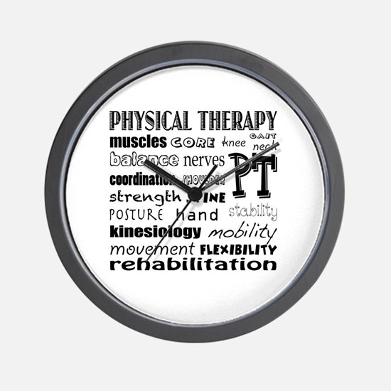 Cute Physical therapist Wall Clock
