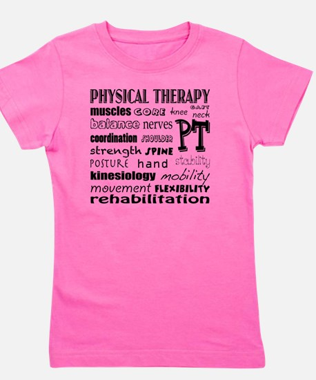 Unique Physical therapy Girl's Tee