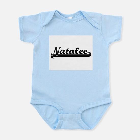 Natalee Classic Retro Name Design Body Suit
