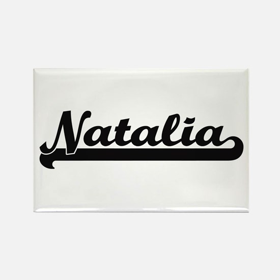 Natalia Classic Retro Name Design Magnets