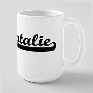 Natalie Classic Retro Name Design Mugs