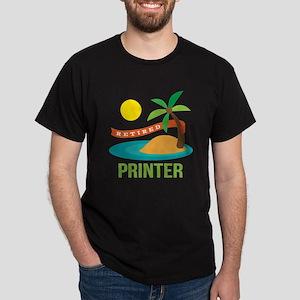 Retired Printer Dark T-Shirt
