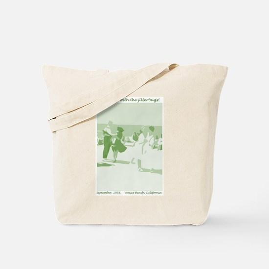 Venice Beach green Tote Bag