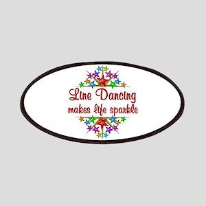 Line Dancing Sparkles Patch