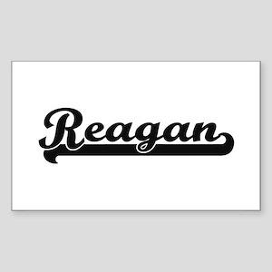 Reagan Classic Retro Name Design Sticker