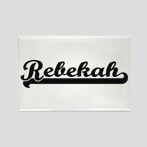 Rebekah Classic Retro Name Design Magnets