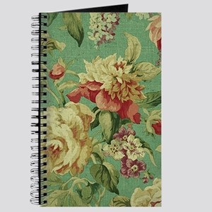 Stunning chic vintage cream roses Journal