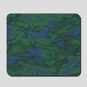 Twilight Green Camo Mousepad