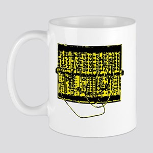 Modular Synth Yellow/Black Mug