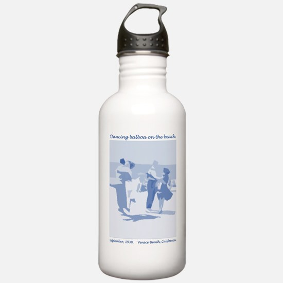 Venice Beach blue Water Bottle