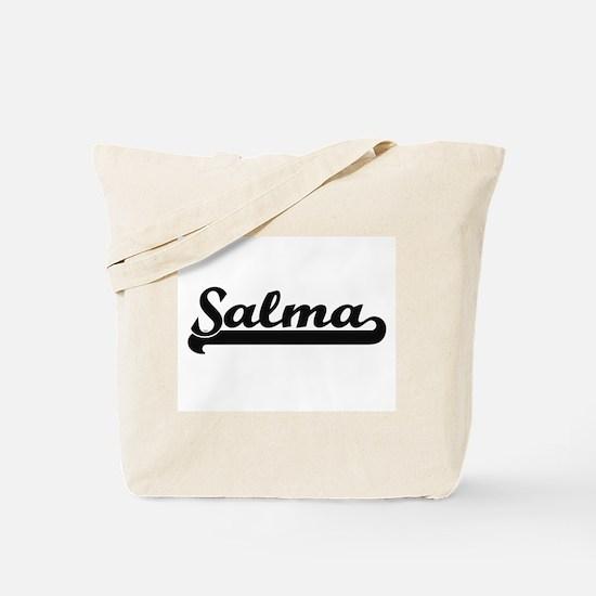 Salma Classic Retro Name Design Tote Bag