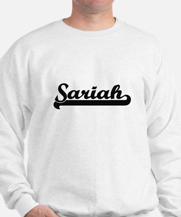 Sariah Classic Retro Name Design Sweatshirt