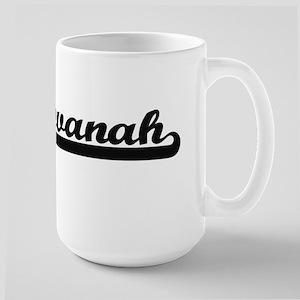 Savanah Classic Retro Name Design Mugs