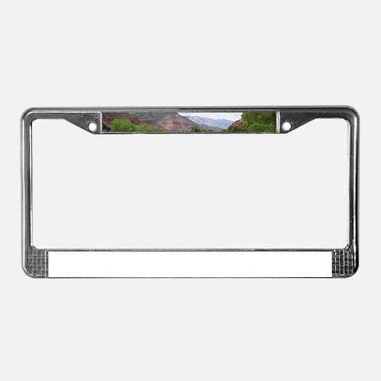 Zion National Park, Utah License Plate Frame