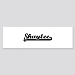 Shaylee Classic Retro Name Design Bumper Sticker