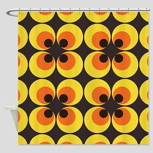 70s Wallpaper Shower Curtain
