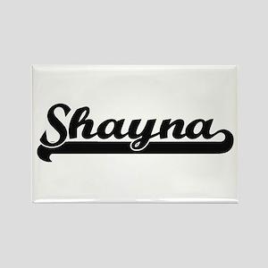 Shayna Classic Retro Name Design Magnets