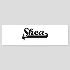 Shea Classic Retro Name Design Bumper Sticker