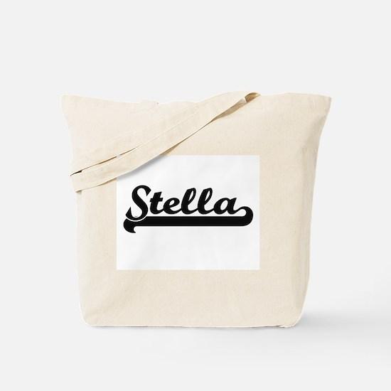 Stella Classic Retro Name Design Tote Bag