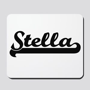 Stella Classic Retro Name Design Mousepad