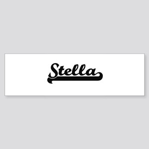 Stella Classic Retro Name Design Bumper Sticker