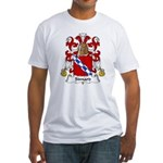 Simard Family Crest Fitted T-Shirt