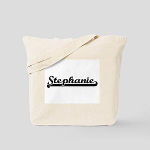 Stephanie Classic Retro Name Design Tote Bag