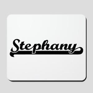 Stephany Classic Retro Name Design Mousepad