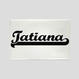 Tatiana Classic Retro Name Design Magnets