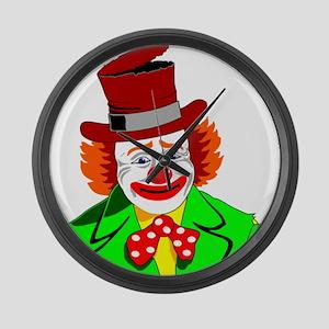 Clown Large Wall Clock