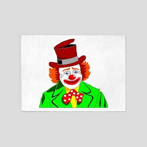 Clown 5'x7'Area Rug