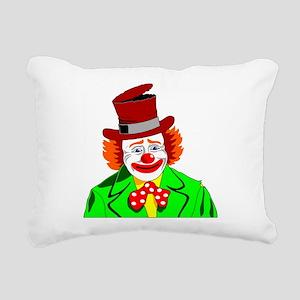 Clown Rectangular Canvas Pillow