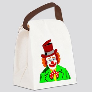 Clown Canvas Lunch Bag