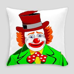 Clown Everyday Pillow