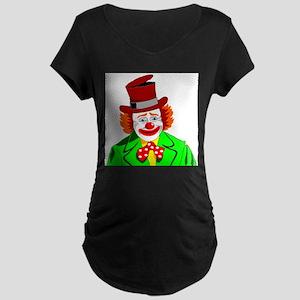 Clown Maternity T-Shirt