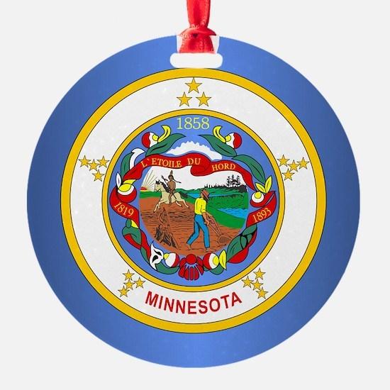 Minnesota Flag Ornament