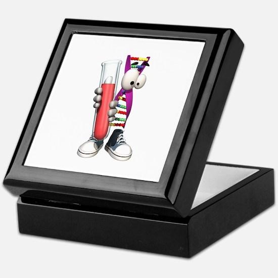 Funny DNA Testing DNA Strip Keepsake Box