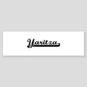 Yaritza Classic Retro Name Design Bumper Sticker