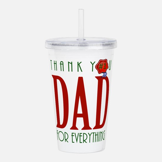Father's Day Acrylic Double-wall Tumbler