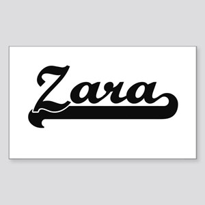Zara Classic Retro Name Design Sticker