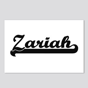 Zariah Classic Retro Name Postcards (Package of 8)