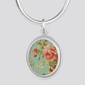 Beautiful Vintage rose floral Necklaces